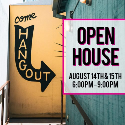 Open House August 14-15 Image