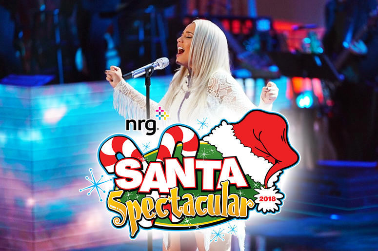 Performance at nrg Santa Spectacular 2018